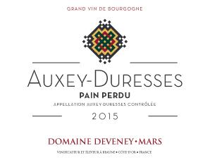 Auxey-Duresses Pain Perdu 2015