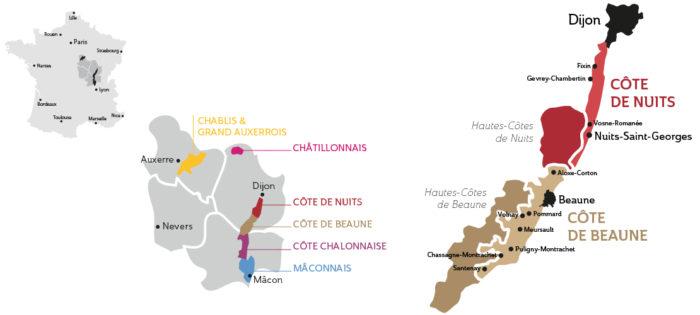 domaine deveney•mars etiquettes vins beaune nuit cotes